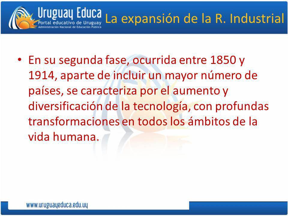 La expansión de la R. Industrial