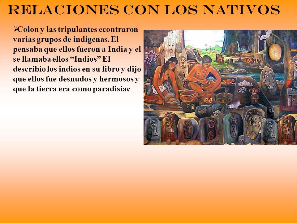 Relaciones con Los Nativos
