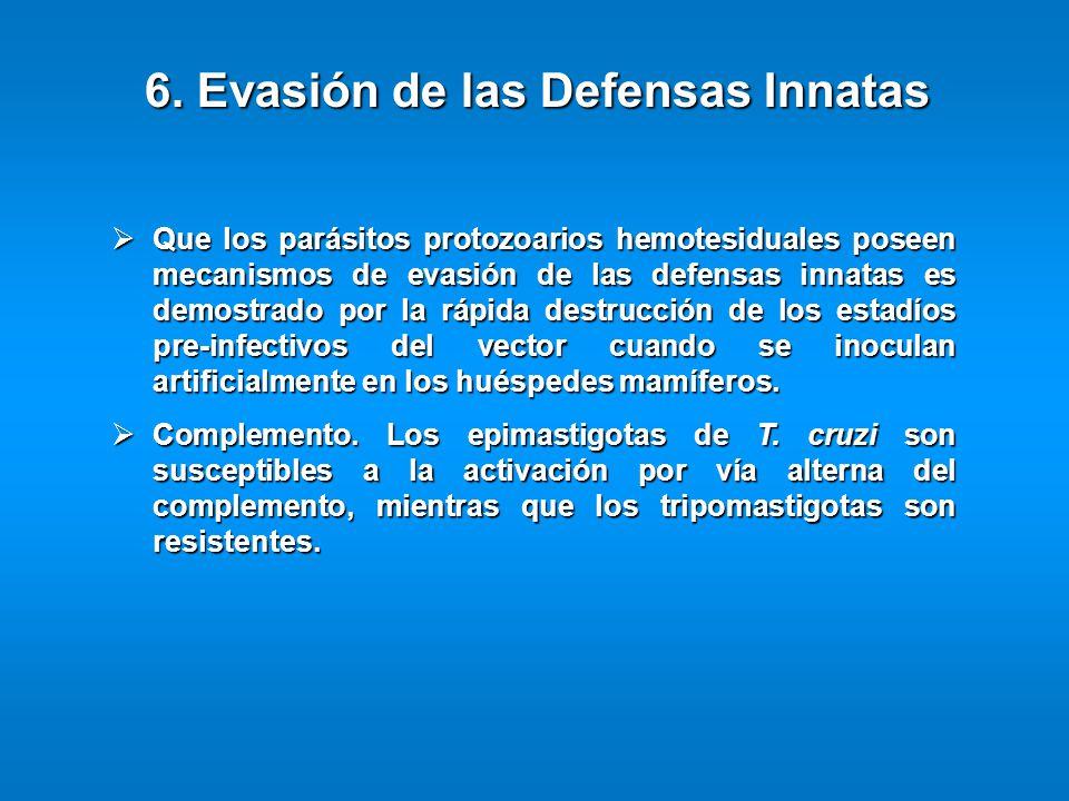 6. Evasión de las Defensas Innatas