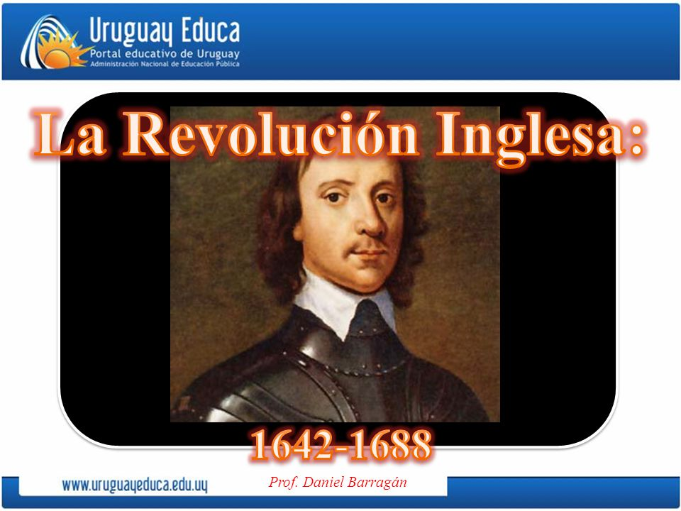 La Revolución Inglesa: