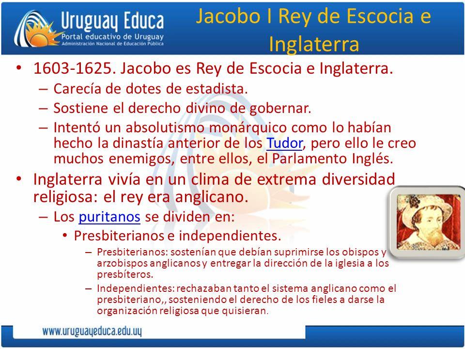 Jacobo I Rey de Escocia e Inglaterra