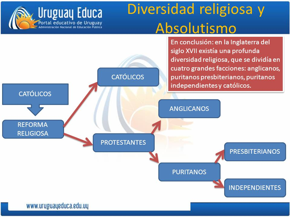 Diversidad religiosa y Absolutismo