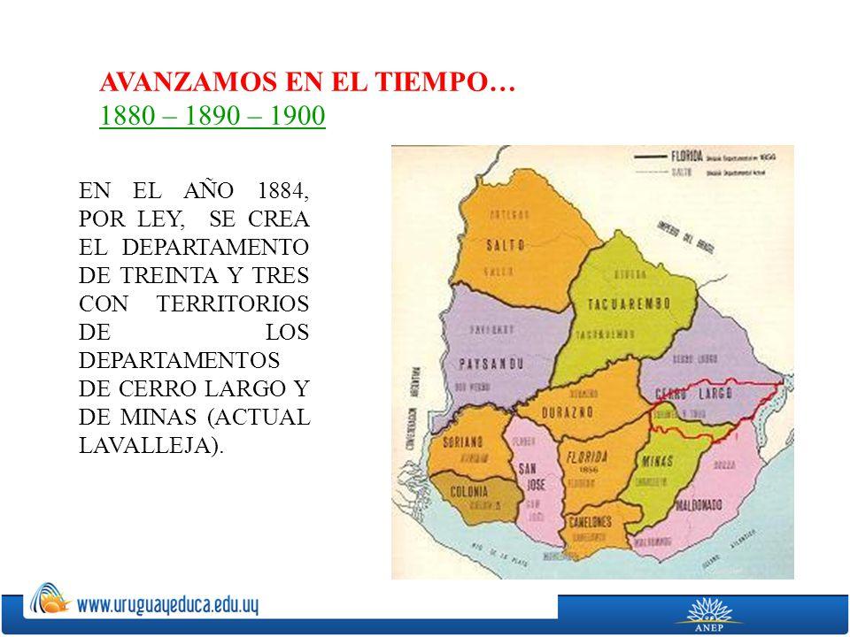 AVANZAMOS EN EL TIEMPO… 1880 – 1890 – 1900