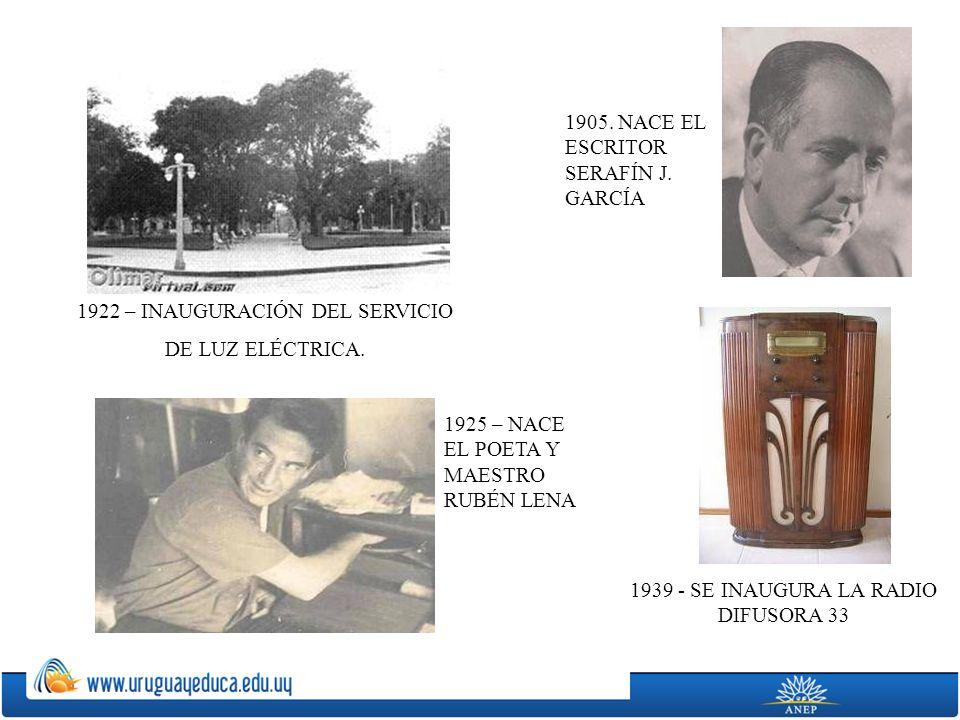 1905. NACE EL ESCRITOR SERAFÍN J. GARCÍA
