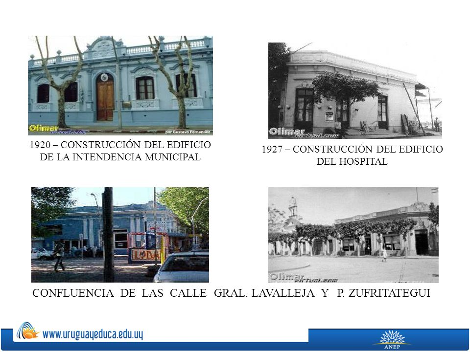 CONFLUENCIA DE LAS CALLE GRAL. LAVALLEJA Y P. ZUFRITATEGUI