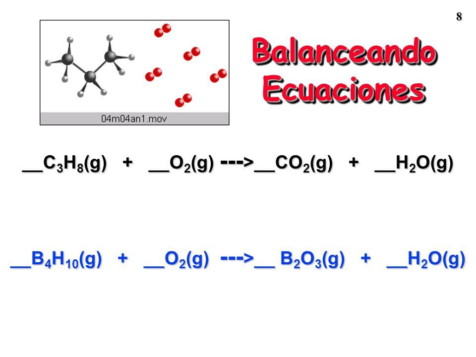 Balanceando Ecuaciones
