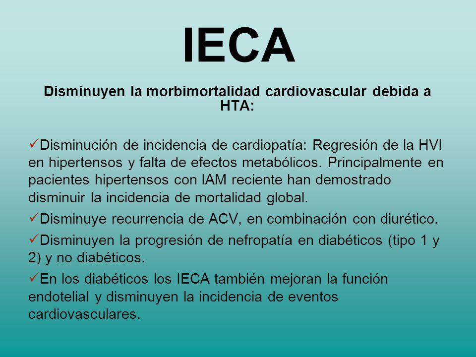 Disminuyen la morbimortalidad cardiovascular debida a HTA:
