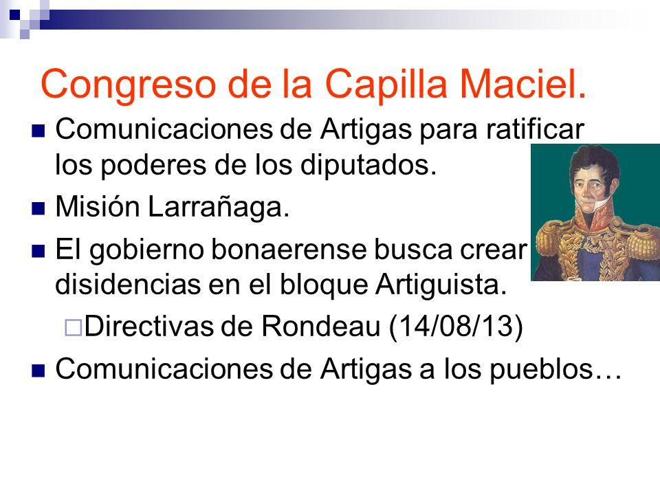 Congreso de la Capilla Maciel.