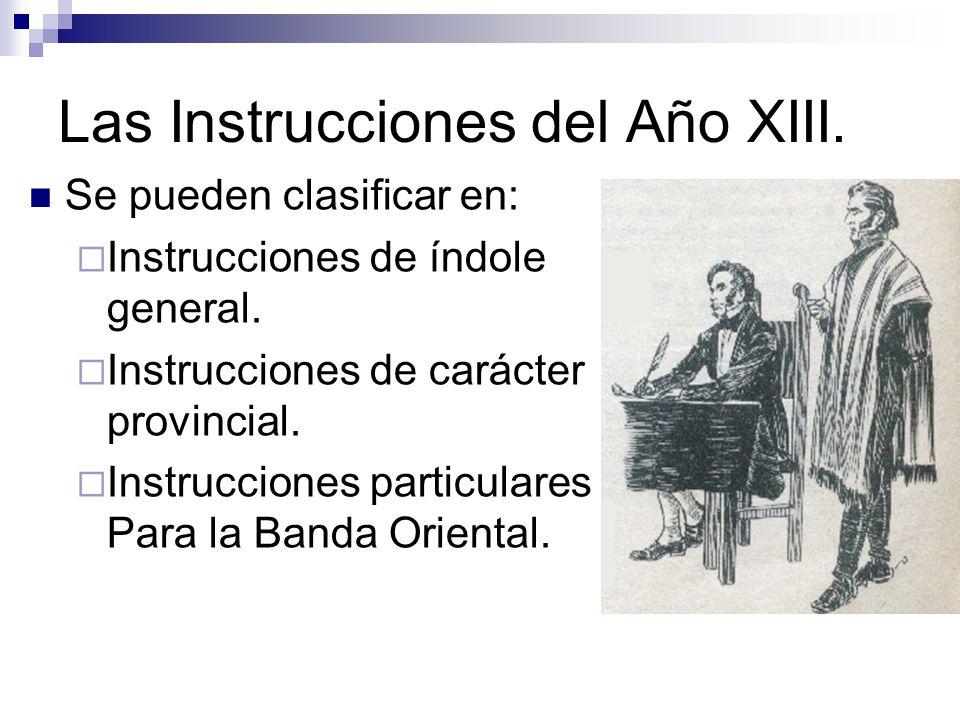 Las Instrucciones del Año XIII.