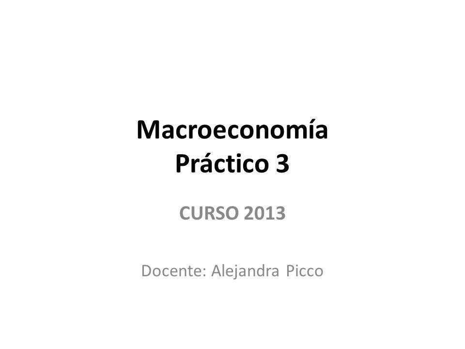 Macroeconomía Práctico 3