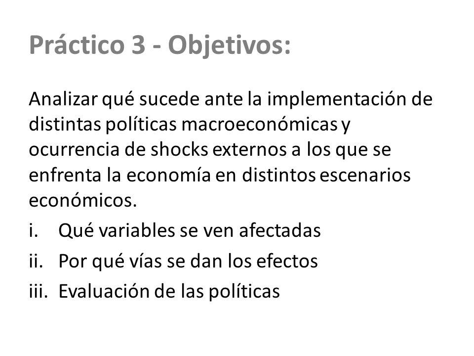 Práctico 3 - Objetivos: