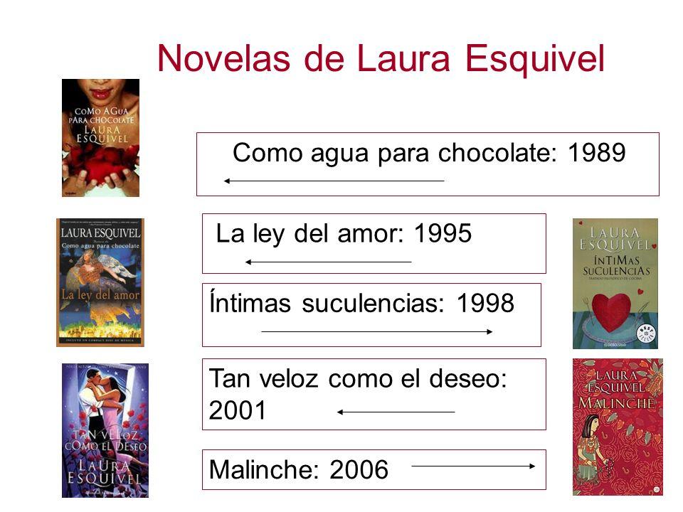 Novelas de Laura Esquivel