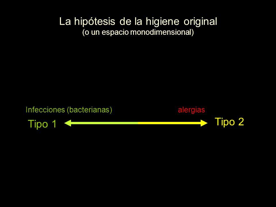 La hipótesis de la higiene original (o un espacio monodimensional)
