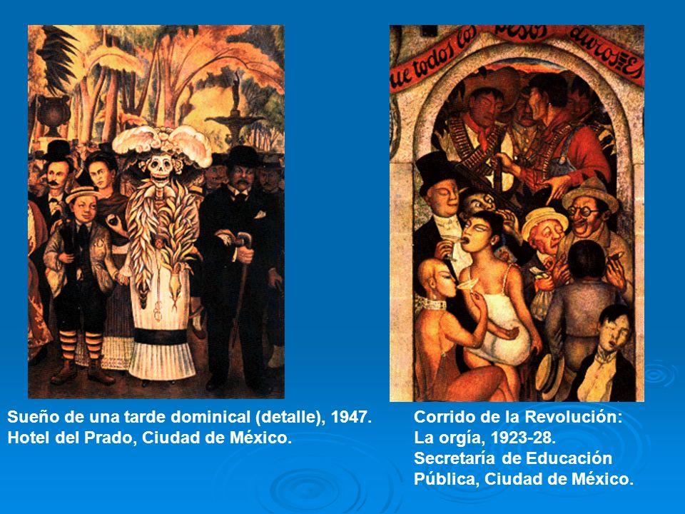 Sueño de una tarde dominical (detalle), 1947