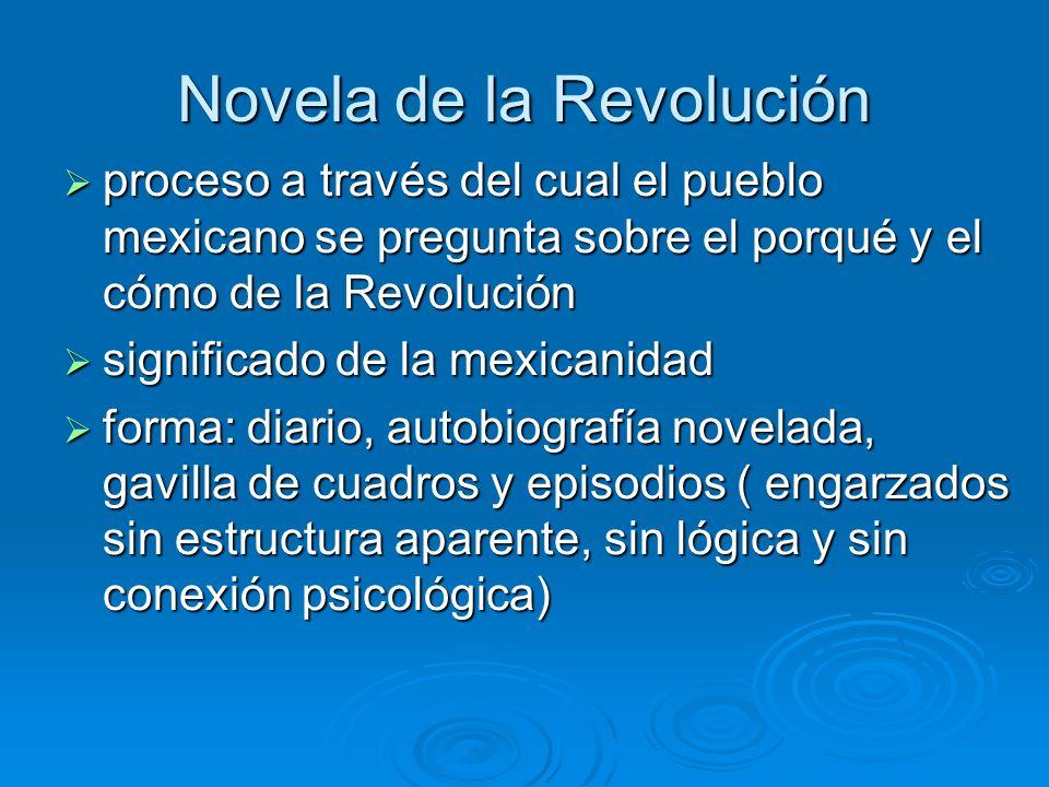 Novela de la Revolución