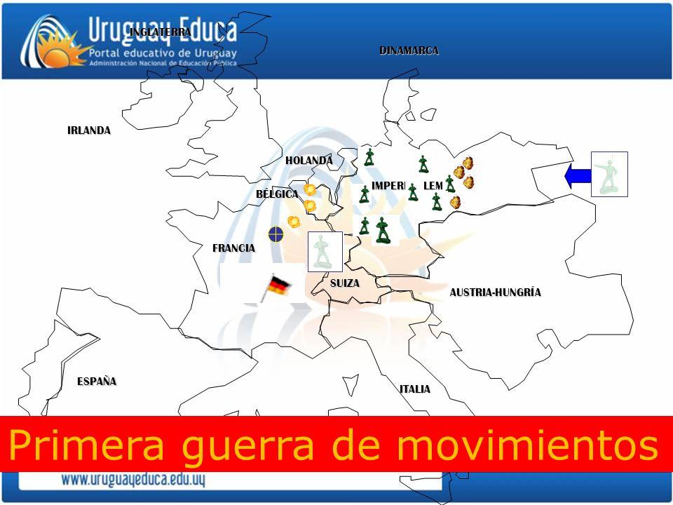 Primera guerra de movimientos
