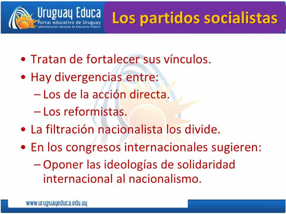 Los partidos socialistas