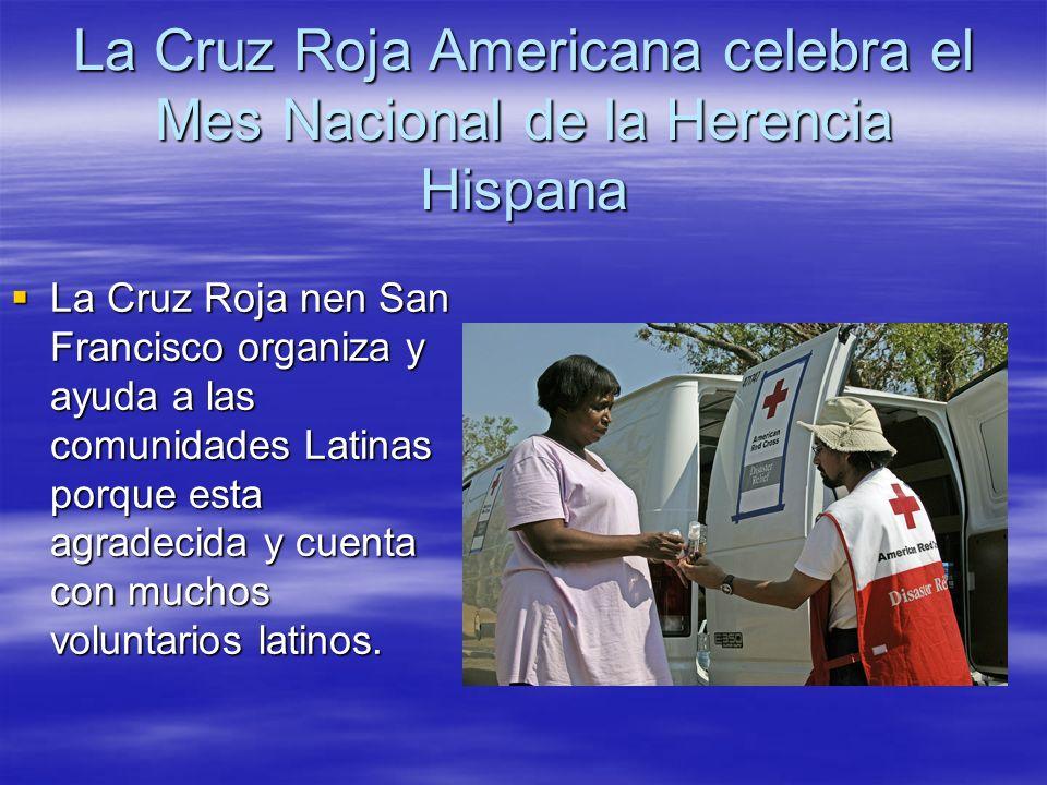 La Cruz Roja Americana celebra el Mes Nacional de la Herencia Hispana