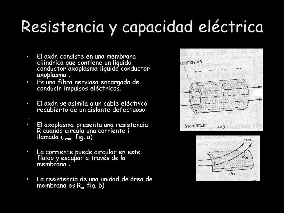 Resistencia y capacidad eléctrica