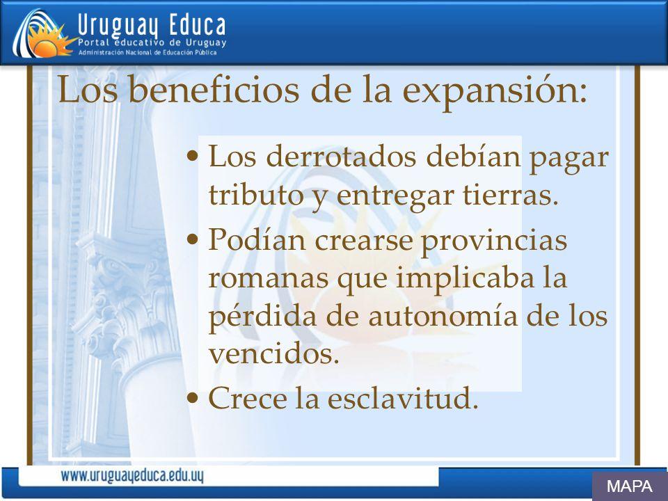 Los beneficios de la expansión:
