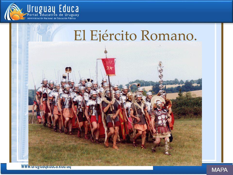 El Ejército Romano. MAPA