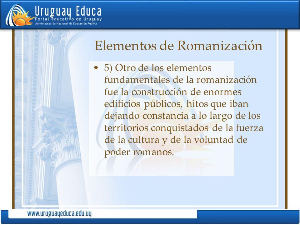 Elementos de Romanización