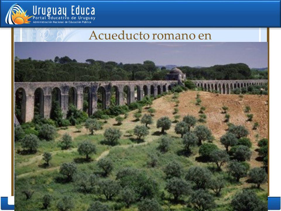 Acueducto romano en Portugal