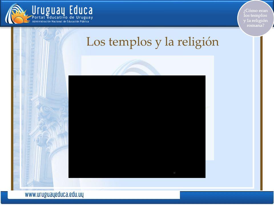 Los templos y la religión