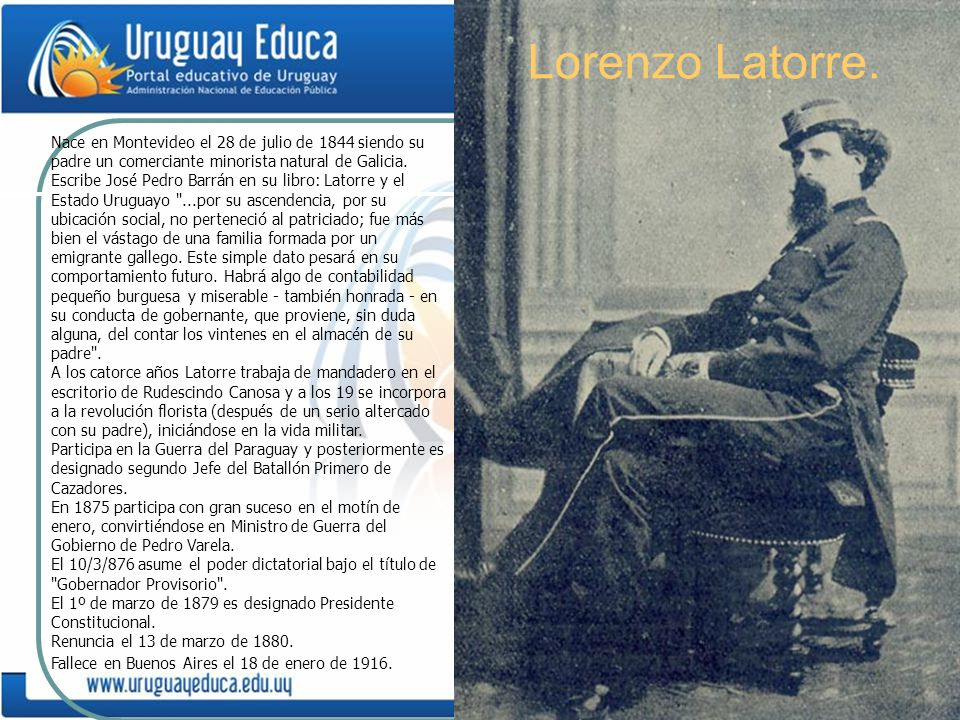 Lorenzo Latorre.