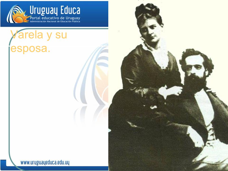 Varela y su esposa.