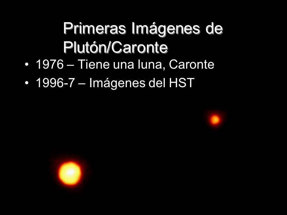 Primeras Imágenes de Plutón/Caronte