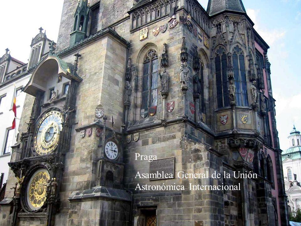 Praga Asamblea General de la Unión Astronómica Internacional