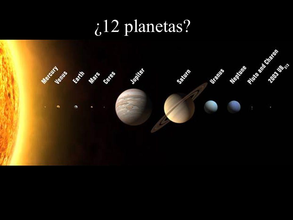 ¿12 planetas