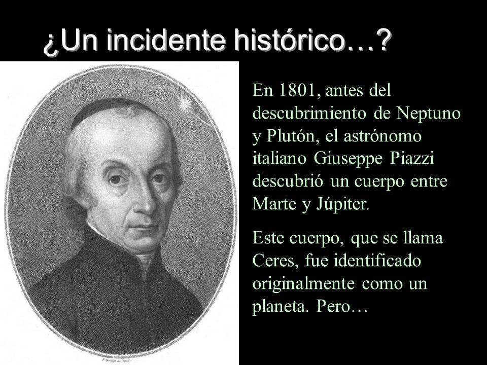 ¿Un incidente histórico…