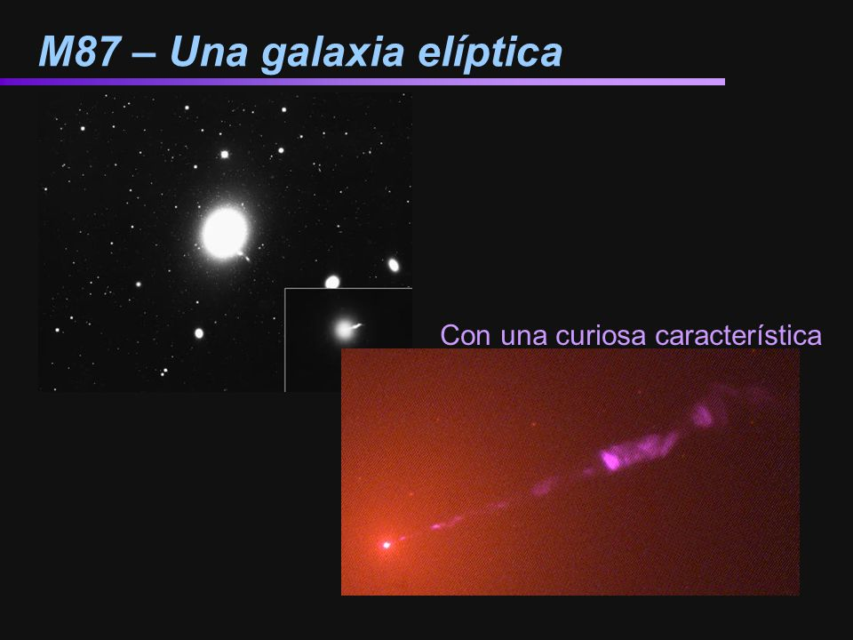 M87 – Una galaxia elíptica