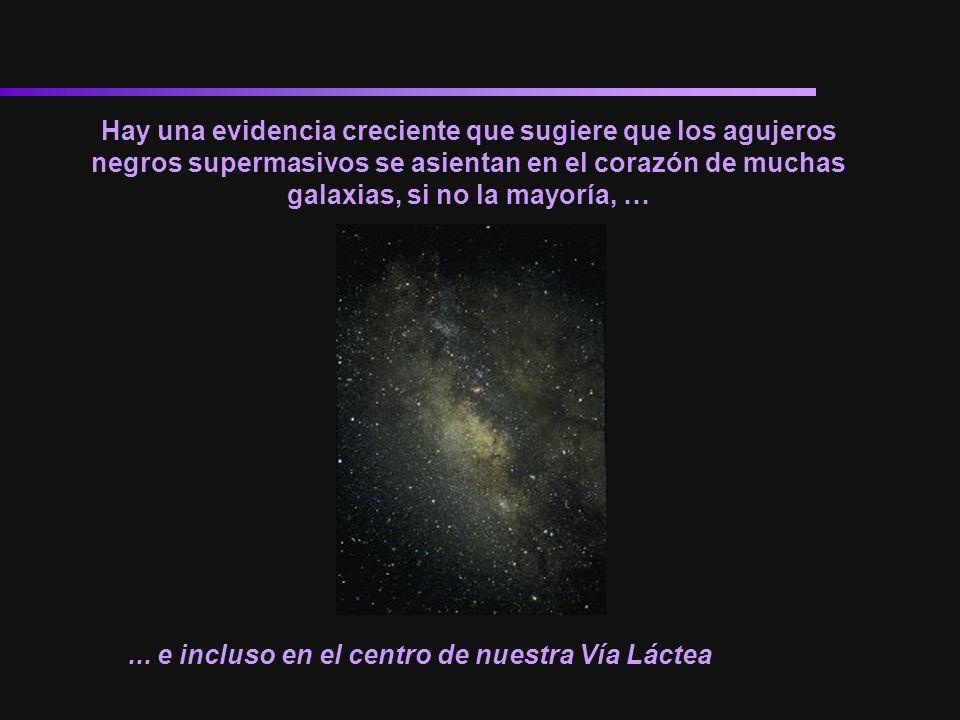 Hay una evidencia creciente que sugiere que los agujeros negros supermasivos se asientan en el corazón de muchas galaxias, si no la mayoría, …