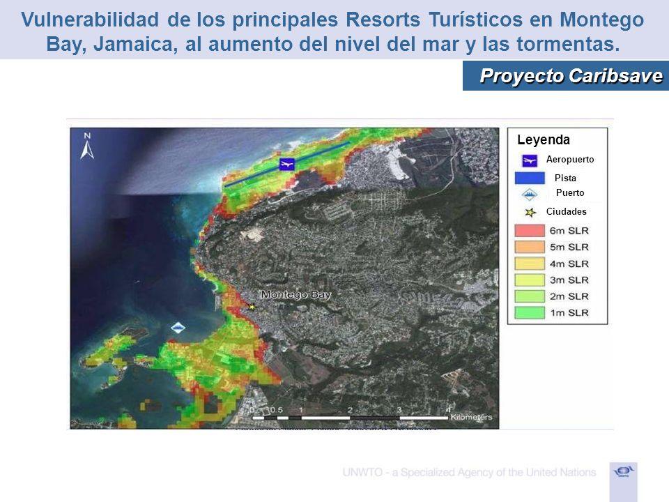 Vulnerabilidad de los principales Resorts Turísticos en Montego Bay, Jamaica, al aumento del nivel del mar y las tormentas.