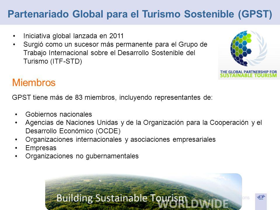 Partenariado Global para el Turismo Sostenible (GPST)