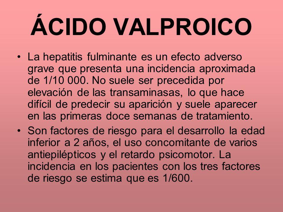 ÁCIDO VALPROICO