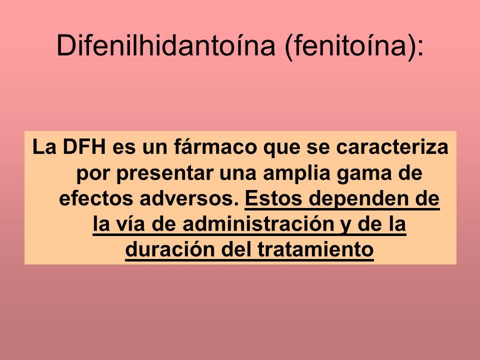 Difenilhidantoína (fenitoína):