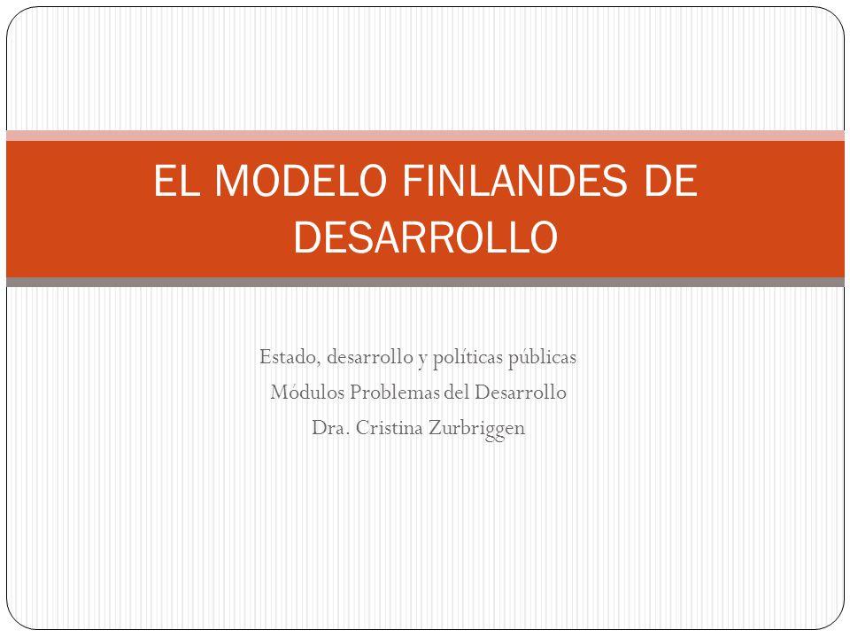 EL MODELO FINLANDES DE DESARROLLO