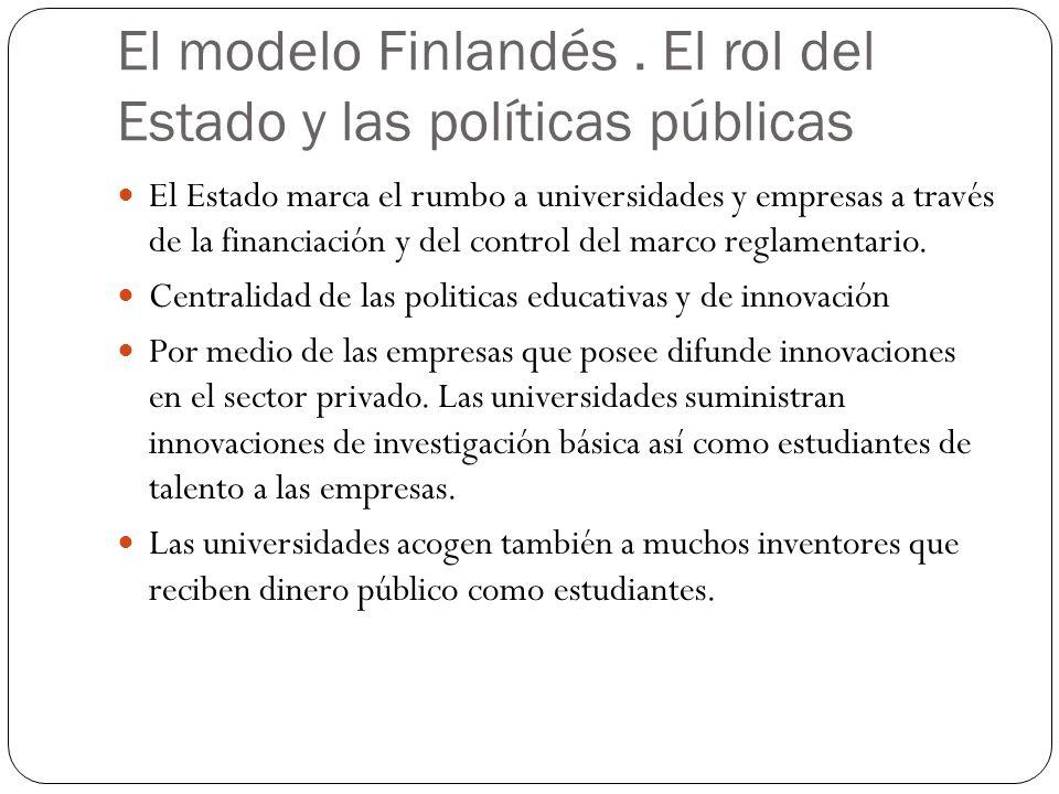 El modelo Finlandés . El rol del Estado y las políticas públicas
