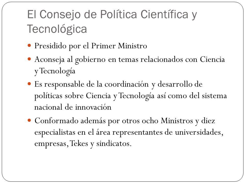 El Consejo de Política Científica y Tecnológica