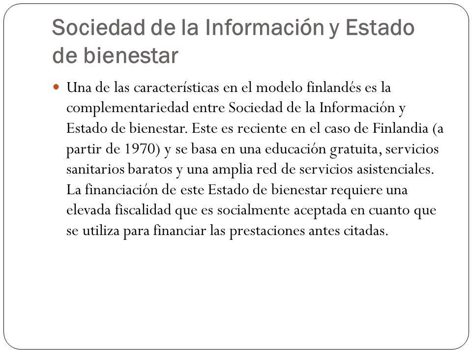 Sociedad de la Información y Estado de bienestar