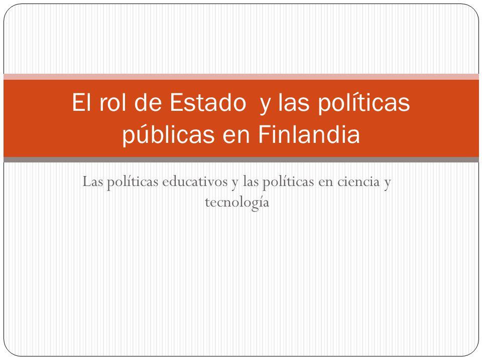 El rol de Estado y las políticas públicas en Finlandia