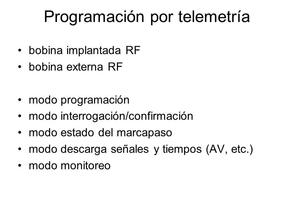 Programación por telemetría
