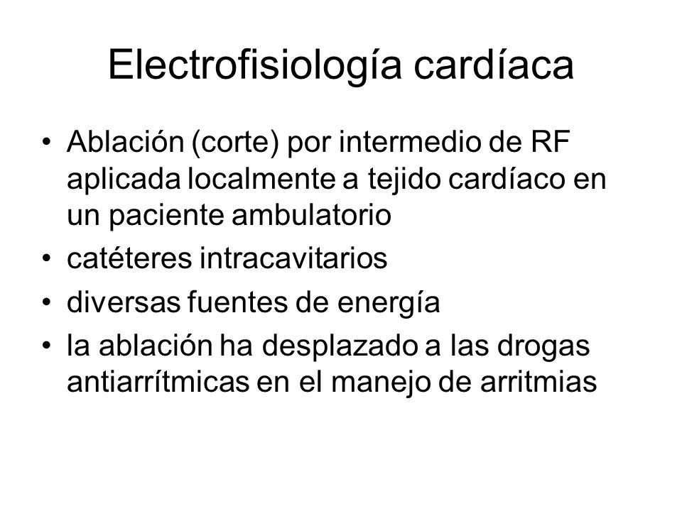 Electrofisiología cardíaca