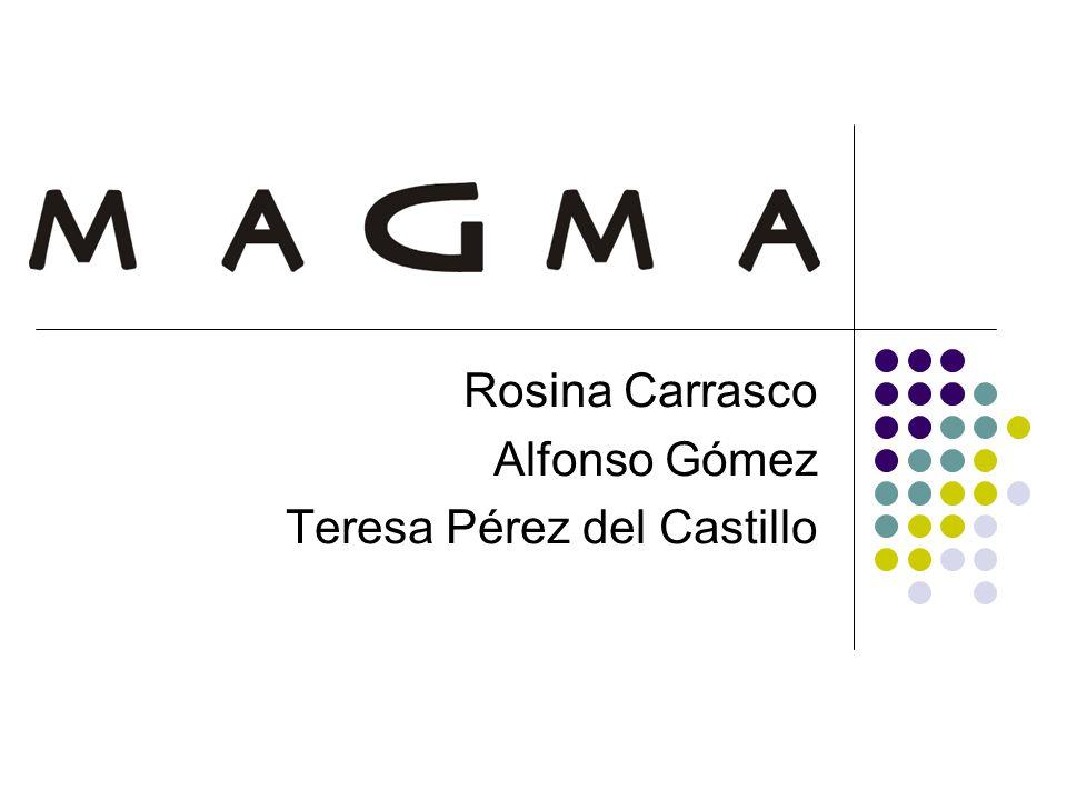 Rosina Carrasco Alfonso Gómez Teresa Pérez del Castillo