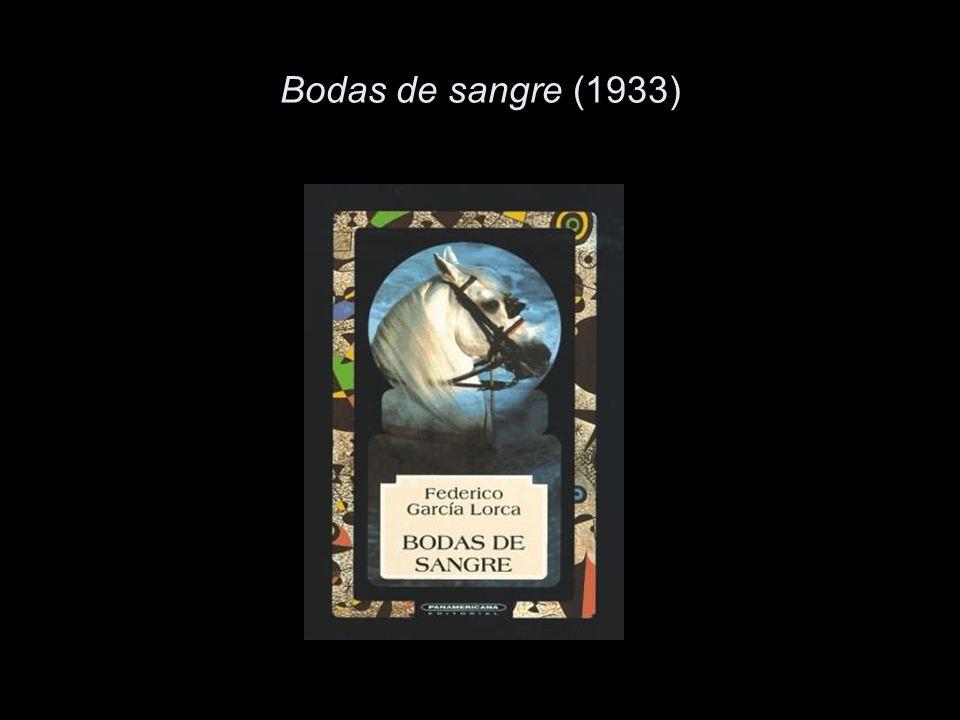 Bodas de sangre (1933)