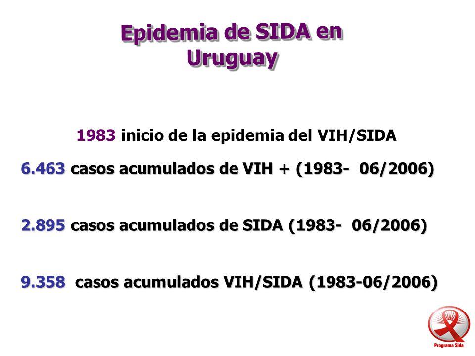 Epidemia de SIDA en Uruguay
